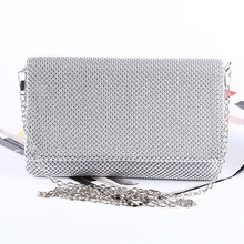 TANGSONGGUCI Full Rhinestones Bags Wedding Handbag Clutches Purse Party Evening Bags Chain Women's Shoulder Bags bolsos mujer
