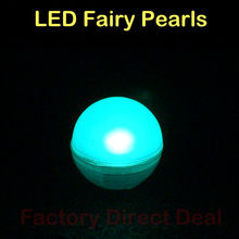 180Pcs/lot White LED Berry Lights Wedding Decoration Christmas Party Function Fairy Pearls Balloons Supplies