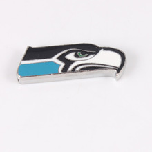 Football Team Slide Charms 8mm American Football Team Seattle Seahawks Slider Charms Fit 8mm Bracelet Diy Phone Strips Pet Dog(China)