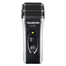 Takstar PH100/PH-100 Mobile phone K Song microphone IOS&Android systems mobile device dedicated microphone K song,PH 100(China)
