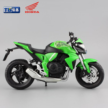 1:12 Children Mini Motorcycle Honda CB1000R Diecast model motor bike miniature Alloy metal models rider toys for Collection boys
