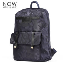 NOW New Nylon Backpacks For Teenager Girls Fashion Camouflage Blue Backpack Big Capacity Casual Shoulder School Bag Travel bag
