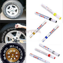 7 Colors Waterproof Car Tyre Tire Tread Rubber Metal Permanent Paint Marker Pen