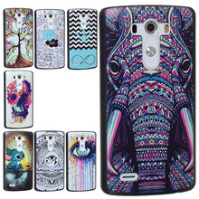 Premium various pretty design painting Stitch skull elephant Case for LG G3 D855 850 D851 V S985 shell back cover
