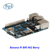 New products ! Quad Core cortex A7 CPU 1G DDR Banana pi BPI-M2 Berry ,same size as raspberry pi 3(China)