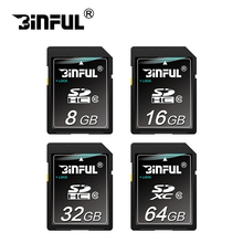SD card class 10 8GB 16GB 32GB 64GB Memory card Transflash Card flash USB memory SD Card class 64gb For Camera(China)