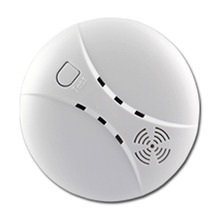 (1 pieces) Wireless Sensitive Photoelectric Smoke Detector Fire Sensor Cordless For Home Alarm System 315/433MHz