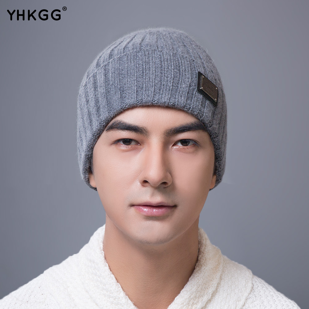 YHKGG   2017 brand new Winter Warm Hat Knitted Cashmere beanies  gorros   Peas cap   wool knittedОдежда и ак�е��уары<br><br><br>Aliexpress
