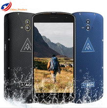 AGM X1 Double Rear Camera IP68 Waterproof Phone 64GB ROM 4GB RAM Octa Core Fingerprint Samartphone