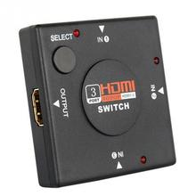 3 Port HDMI Multi Display Auto Switch Hub Box 1080P Switcher 3 in 1 out Splitter for HDTV DVD Xbox 360 PSP4