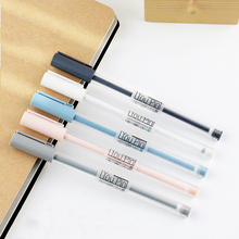 2 Pcs/lot Cute Kawaii New Simple 0.35mm MG Writing Gel Pen Office School Supplies Stationery Kids Student Children