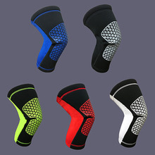 New Style Breathable Basketball Football Sports Safety Kneepad Training Elastic Knee Pads