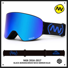 Brand NANDN Polarized Children Kids Ski Goggles Winter Outdoor Sports Skiing Snowboarding Glasses Motocross Protective