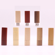 Wooden bamboo USB flash drive pen drives wood chip pendrive 4GB 8GB 16GB 32GB USB2.0 Flash memory stick U disk Gift Hot Selling