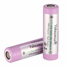 Vakaumus 3.7V 18650 Battery 3000mah Powerful Li-ion Batteries PCB Protection Rechargeable Batteria Torch Flashlight - Electronic overseas online shopping store