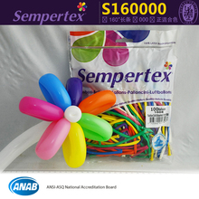 100pcs/bag mixed color 160 magic long balloons Columbia Sempertex Latex balloon baoes,kid's toy.