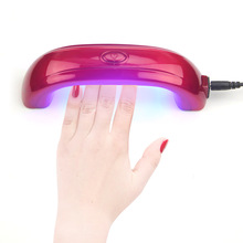 LKE Newest 9W Mini LED UV Light Gel Curing Lamps Dryer Fast  For LED Gel Polish High Quality Factiry Price Led Lamp