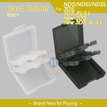 16 in 1 Protective Game card Cartridge holder case box for Nintendo New 3DS XL / 3DS LL / 3DS / DS