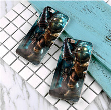 New Arrival Ultrathin Luxury printing Hard plastics Case for iphone 5 5s SE 5c 4s 6 6s 7 plus BioShock pattern Phone Case(China)
