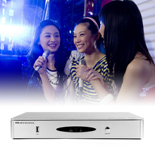 HD-HYNUDAL Chinese Karaoke Player Sing machine 2TB HDD System 40K Original KTV MTV Songs Have Wifi Fuction can connect the photo