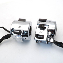 Right Left Side Chrome Control Switch for GY6 Moped Retro Scooter 50cc 125 150