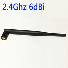 WIFI SUPPLY Wifi Antenna 2.4Ghz 6dbi high gain Omni with  SMA male connector  foldable NEW Wholesale