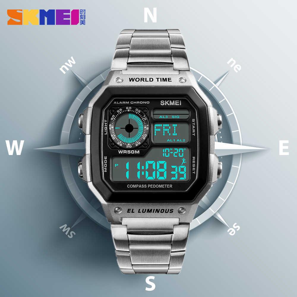 7209d0b8 Подробнее Обратная связь Вопросы о Обратного отсчета компас спортивные часы  SKMEI Для мужские часы лучший бренд Роскошные часы мужские наручные ...
