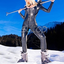 Suitop Inflatable latex catsuit for women