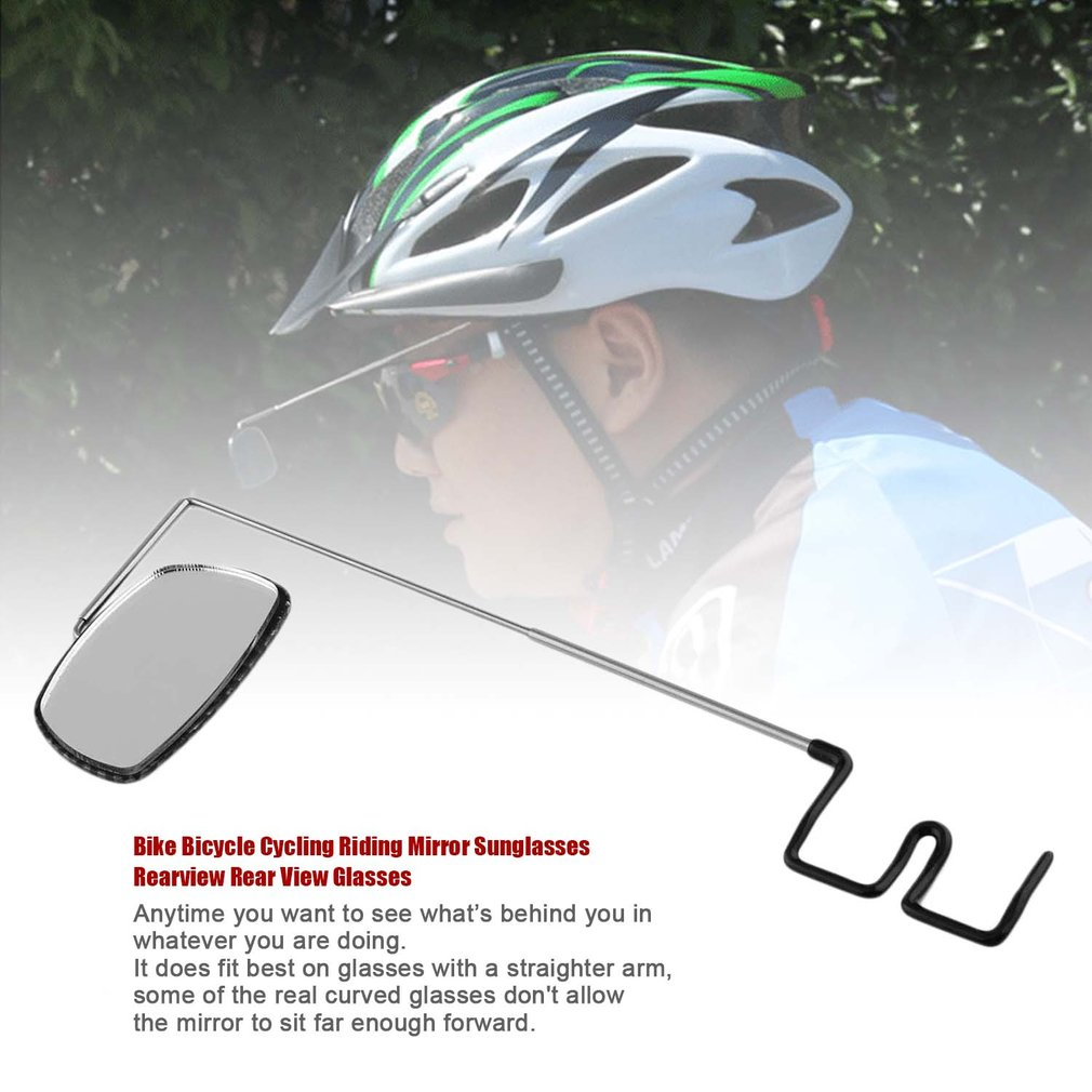 Bike Bicycle Cycling Riding glasses Mirror Sunglasses Rearview Rear View Glasses new brand