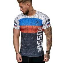Summer Russian flag men T-shirt 3D fashion cotton tees leisure bodice  fitness short-sleeved shirt German flag men top t shirt 947950908de7