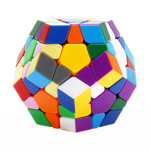 YKLWorld New Arrival Professional Megaminx Magic Cube Stickerless Smooth Puzzle Cube Speed Magico cubo Educational Kids Toys -35(China)