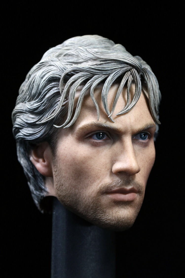 Custom 1/6 Quicksilver Aaron Johnson Man Male Head Sculpt for Hot Toy Body model For 1/6 Action Figures Body Toys <br><br>Aliexpress
