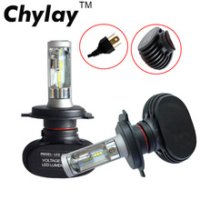 1 pair car Led headlight H7 H4 9005 9006 H3 H1 H11 led Auto fog lamp 50W 6500K xenon white light CSP chips Automobile bulb - Chylay Automotive Store store