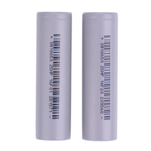 2 Pcs Li Traction Battery 18650 3.7V Rechargeable battery 2500 mAh high drain Power battery 18650 with standard battery packing