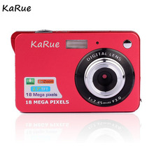 KaRue Portable 18MP 720P Mini Digital Camera 8x Zoom Digital Photo Frame 2.7 inch CMOS HD Digital Video High Quality(China)