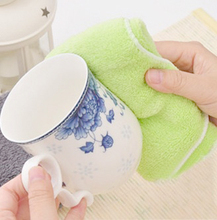 Fibre Cleaning Cloth Kitchen Oil Wash Furniture Floor Wipe Car Multifunctional Cleaning Tools(China)