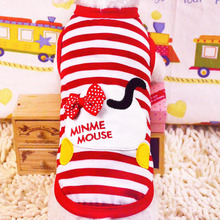 Hot sale Dog Outer wears spring Dog Clothes pet dog clothes pets clothing for Teddy bear dogs XS/S/M/L sizes(China)