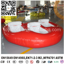 Fly fishing boat float tube inflatable pontoon fishing kayaks boat for three people(China)