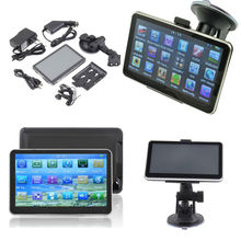 New Hot Universal 5 Inch Auto Car GPS Navigation Sat Nav Bluetooth AV-IN 128M/8GB bundle New Map WinCE 6.0 FM MP4