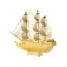 Buy 3D Metal Puzzles toys children Adults Model kids Toys Jigsaw Pirates Caribbean metal puzzle educational toys Gifts for $3.68 in AliExpress store