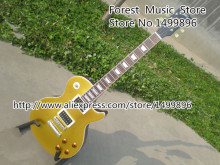 Matte Goldentop LP Standard Slash Appetite Signature Electric Guitar Lefty Available From China Factory