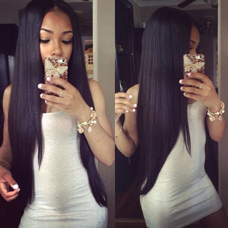 Peruvian Virgin Hair Straight 3 Bundles 7A Unprocessed Virgin Peruvian Straight Hair Cheap Human Hair Weave Extensions CGG Hair<br><br>Aliexpress