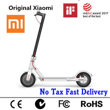 2017 Original XiaoMi Mijia Electric scooter hoverboard Electric Skateboard Adult Foldable bike Mini Motor Scooter Steering-wheel(China)