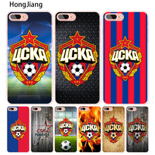 HongJiang Football CSKA Moscow Team cell phone Cover case for iphone 4 4s 5 5s SE 5c 6 6s 7 8 X plus(China)