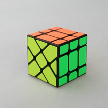 YJ Yongjun Fisher Cube 3x3x3 Speed Puzzles Magic Cube Learning Educational Toys For Children Kids Cubo Magico(China)