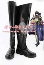 Code Geass Kururugi Suzaku Cosplay Shoes Boots Anime Shoes