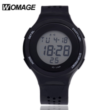 Leisure Men LED Watches Hot Sale Brand Fashion Silicone Meter Dial Sport Digital Relojes Children Waterproof Hour Wristwatch