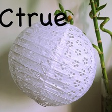 White Paper Lanterns 12pcs/lot Pierced Round Paper Lantern Lamps Wedding Christmas Celebration Decoration Chinese Paper Lanterns
