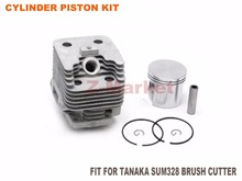 Cylinder Piston Kit for TANAKA SUM 328 Brush Cutter 2 Stroke Gasoline Engine Garden Tools Spare Parts