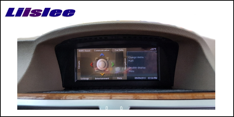 Liislee For BMW 7 E65 E66 2002~2009 Car Multimedia GPS Audio Media Radio Stereo Navigation Player NAVI 5